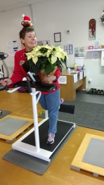On the fifth day of Christmas, Linda gave to me . . . a glute machine.