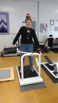On the second day of Christmas, Linda gave to me . . . a lateral lift.