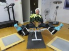 On the twelfth day of Christmas, Linda gave to me . . . a hip abductor/adductor. Merry Christmas!